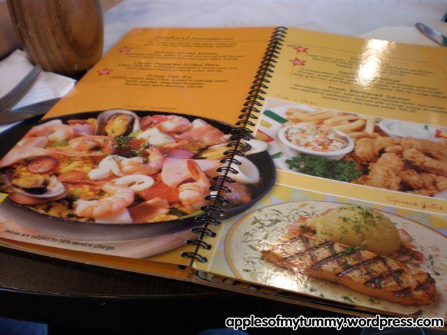 Burgoo Restaurant Moa Menu